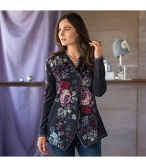 tapestry garden cardigan sweater
