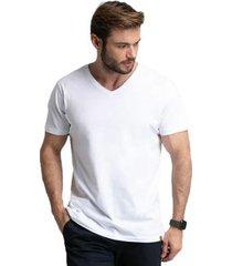 camiseta di nuevo gola v masculina - masculino