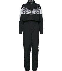 hmlceline jumpsuit sweat-shirts & hoodies tracksuits - sets svart hummel hive