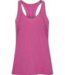 camiseta regata nike run tank - feminina - rosa escuro