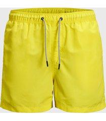 traje de baño jack & jones aruba amarillo - calce regular