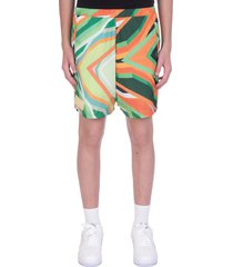 formy studio shorts in green polyester