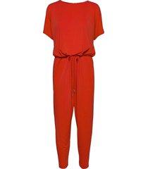 siri jumpsuit jumpsuit röd inwear