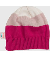 gorro kidsplash! pink/rosa/off white