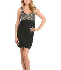 farid dress - guess - jurken - zwart