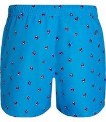 björn borg zwembroek loose shorts la parasol ibiza blue