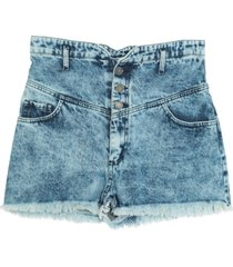 actualee denim shorts