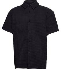 akoko shirt 11602 polos short-sleeved svart samsøe samsøe