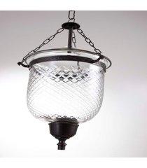 suporte vela pendente- pashmina- vidro- transparente - transparente - dafiti
