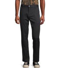 volcom men's vmonty stretch pants - charcoal - size 32