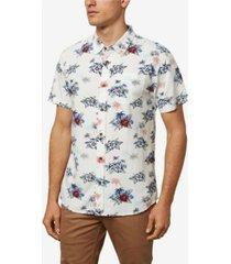jack o'neill island skies short sleeve shirt