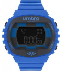 reloj digital azul umbro