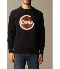 colmar sweater colmar cotton crewneck sweatshirt with logo