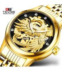 relojes de mujer esqueleto phoenix reloj mecánico relojes de pulsera
