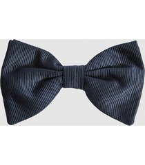 reiss otto - silk bow tie in navy, mens