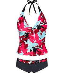 tankini (set 2 pezzi) (nero) - bpc bonprix collection