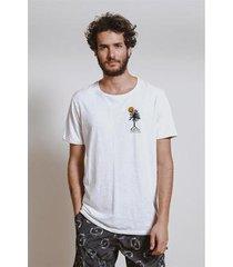camiseta bordado palms armadillo masculina - masculino