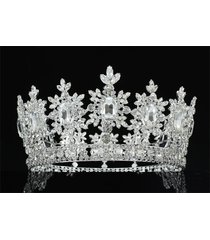 men's pageant imperial sparkling tiara full circle round king crown