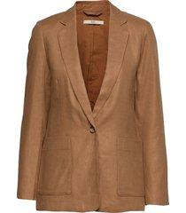 blazers woven blazers over d blazers brun edc by esprit