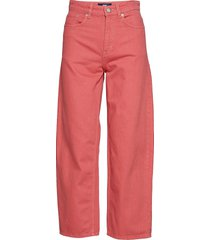 ilo jeans wijde jeans roze wood wood