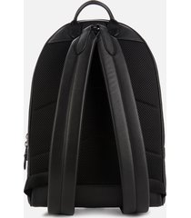 coach men's metropolitan soft backpack in signature pebble leather - black