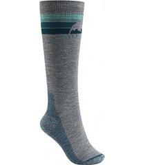 calcetin de ski w emblem mdwt socks gris burton