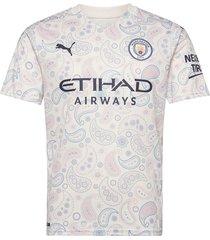 manchester city men's third jersey t-shirts football shirts crème puma