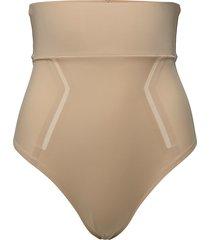 thong shapewear underkläder beige calvin klein