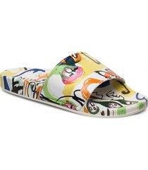 elfreda shoes summer shoes flat sandals multi/mönstrad munthe