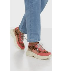 duffy leo contrast sneaker low top