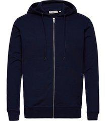 ville hoodie trui blauw minimum