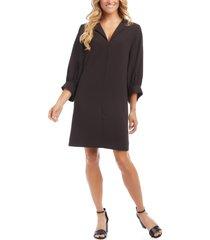 women's karen kane blouson sleeve shift dress