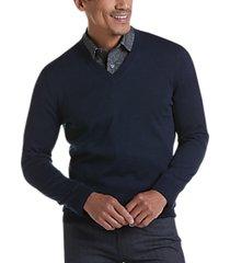 joseph abboud blue 37.5® technology v-neck sweater