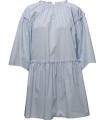 paula dress kort klänning blå designers, remix