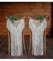 ozdoba / makrama na krzesło /ślub