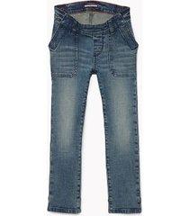 tommy hilfiger boy's adaptive seated fit skinny jean bankside wash - 10
