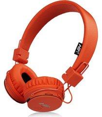 audífonos gamer, nia x2 gaming estéreo hd manos libres original auriculares bluetooth libre plegables deportivos con micrófono de apoyo tf tarjeta de radio fm (anaranjada)