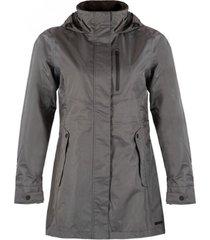 chaqueta element b-dry hoody jacket gris medio lippi
