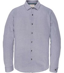 long sleeve shirt jersey pique oxf heron