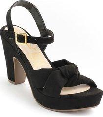 calzado dama tacon 182742negro