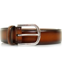 anderson's belts polished leather belt | brown | a3273plc1