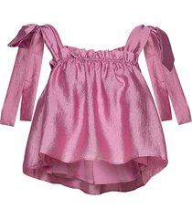 gia, 784 textured poly t-shirts & tops sleeveless roze stine goya