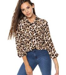 camisa animal print blush eslovenia