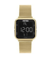relógio feminino mormaii digital - mo6600ah8d dourado