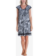 ellen tracy yours to love short sleeve nightgown