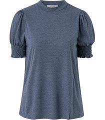 topp crivana short sleeve jersey blouse