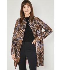 brązowy płaszcz jesienny breda