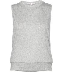 cool-down top t-shirts & tops sleeveless grijs filippa k soft sport