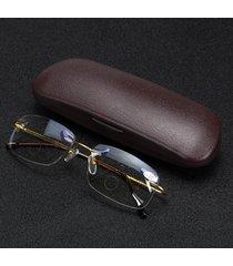 mezza metal rim multi focus progressive occhiali da lettura occhiali presbiopia eye health care