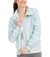 ideology ruched-sleeve hooded jacket, created for macy's